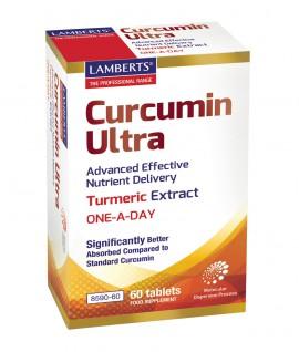 Lamberts Curcumin Ultra Συμπλήρωμα Διατροφής Για Την Πέψη 60 ταμ