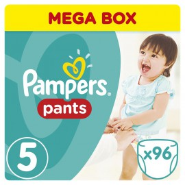 PAMPERS Pants No.5 12-18 kg 96 Πάνες