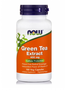 Now Foods Green Tea Extract 400mg 100 Veget.caps