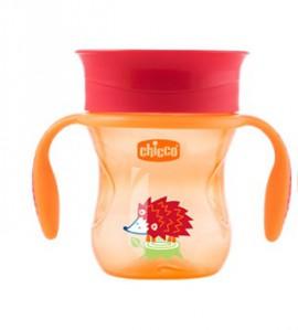 CHICCO PERFECT CUP ΚΥΠΕΛΛΟ 2 ΣΕ 1 12Μ+ ΟΥΔΕΤΕΡΟ 200ML