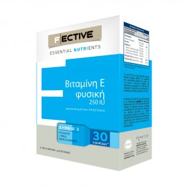 Fective Essential Nutrients Vitamin E 250IU 30 LipidCaps
