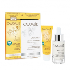 Caudalie Set Vinoperfect Radiance Serum Complexion Correcting 30ml + Δώρο Anti-Wrinkle Face Suncare SPF50 25ml