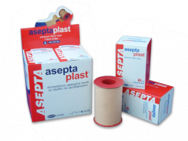 ASEPTA Aseptaplast Ταινίες υφασμένες αυτοκόλλητες 2,5cmX5m 1τμχ.