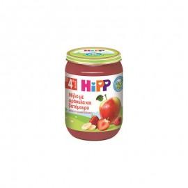 Hipp Βρεφική Φρουτόκρεμα Μήλο-Φράουλα-Βατόμουρο Μετά τον 4ο Μήνα 190g