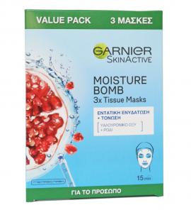 Garnier Moisture Bomb 3 Tissue Masks