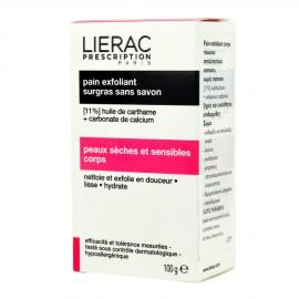 LIERAC PRESCRIPTION pain exfoliant surgras sans savon 100gr