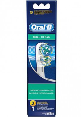 ORAL-B Dual Clean Ανταλλακτικά 2ΤΜΧ