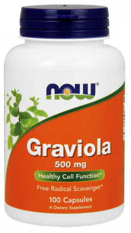 Now Foods Graviola 500mg 100Caps
