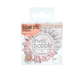 Invisibobble Sprunchie Slim Bella Chrome 2τμχ