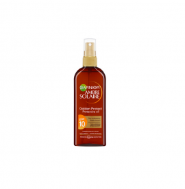 Garnier Ambre Solaire Golden Protect Sun Oil SPF10 Λαδι Προστασιας 150ml