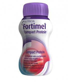 Nutricia FORTIMEL Compact Protein Δροσιστικά κόκκινα φρούτα 4X125ml