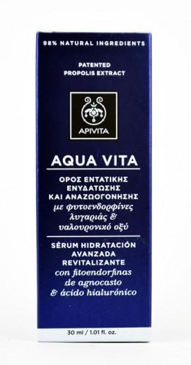 Apivita Aqua Vita Ορός Εντατικής Ενυδάτωσης και Αναζοωογόνησης 30ml
