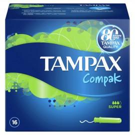 TAMPAX Compak Super 16τμχ