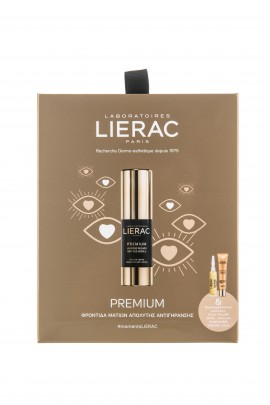 Lierac Set Premium The Eye Cream Absolute Anti-Aging 15ml + Cica-Filler serum 10ml + Sunissime fluide SPF50+ 10ml