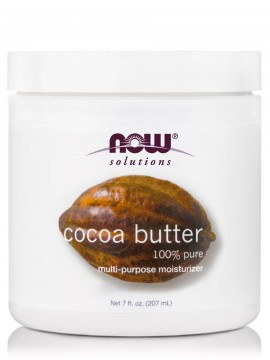 Now Foods 100% Pure Cocoa Butter 7oz 207ml