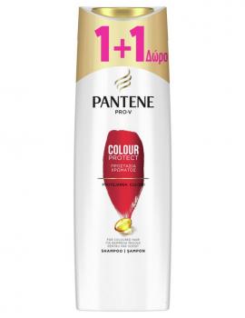 Pantene Pro-V Colour Protect Shampoo Προστασία Χρώματος 360ml 1+1 Δώρο