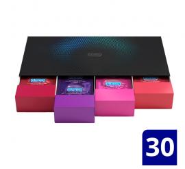 Durex Love Collection Ποικιλία με Επιλεγμένα Προφυλακτικά σε premium κασετίνα 30τμχ