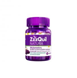 ZzzQuil Natura Μελατονίνη 30 Ζελεδάκια