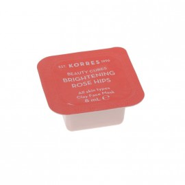 Korres Beauty Cubes Brightening Rose Hips Clay Face Mask 8ml