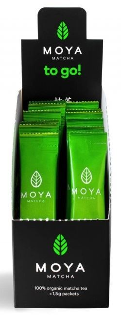 Moya Matcha Traditional To Go Πράσινο Τσάι 12 X 1.5gr
