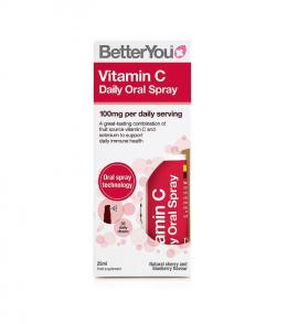 BetterYou Vitamin C Daily Oral Spray 25ml