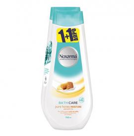 Noxzema Αφρόλουτρο Pure Honey Bath 750ml 1+1 Δώρο