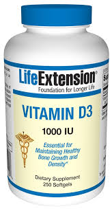Life Extension Vitamin D3 1000IU 250softgels