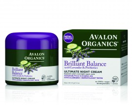 Avalon Organics Brilliant Balance Ultimate Night Cream with Lavender & Prebiotics 57g