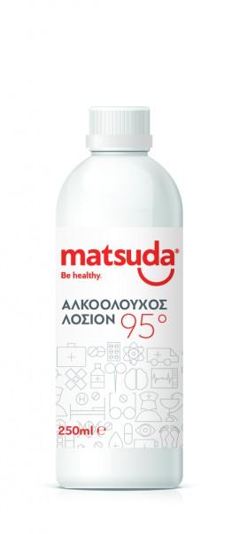 Matsuda Αλκοολούχος λοσιόν 95 250ml
