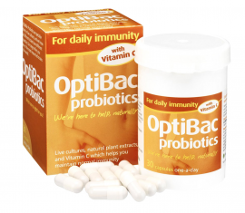 Optibac Probiotics For Daily Immunity 30caps