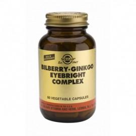SOLGAR BILBERRY GINKGO EYEBRIGHT COMPLEX 60VCAP