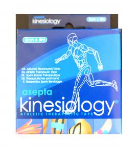 ASEPTA Kinesiology tape χρώματος Μαύρο, 5cmX5m