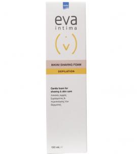 Intermed Eva Intima Bikini Shaving Foam Απαλός Αφρός Ξυρίσματος - Περιποίησης Δέρματος 150ml