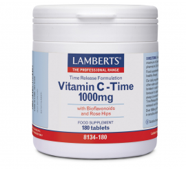 LAMBERTS Vitamin C Time Release 1000mg 180tabs