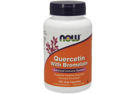 Now Foods Quercetin With Bromelain 120 Veget.caps