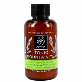 Apivita Mini Γαλάκτωμα Tonic Mountain Tea για Ενυδάτωση Σώματος 75ml