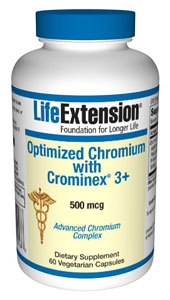 Life Extension Optimized Chromium 60caps
