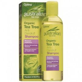 OPTIMA Australian Organic Tea Tree Anti Dandruff Shampoo 250ml