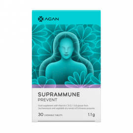 Agan Suprammune Prevent 30 chewable tablets