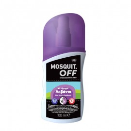 Mosquit Off Eντομοαπωθητικό Spray με Άρωμα Λεβάντα 100ml