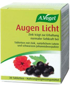 A.VOGEL Vision Complex (Vegan) 30tabs (Augen Licht)