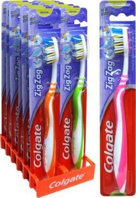Colgate Zig - Zag Medium Οδοντόβουρτσα 1τμχ