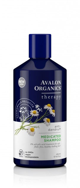Avalon Organics Medicated Anti Dandruff Shampoo 414ml