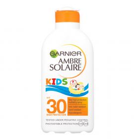 Garnier Ambre Solaire Kids SPF30 Παιδικό Αντηλιακό Γαλάκτωμα 200ml