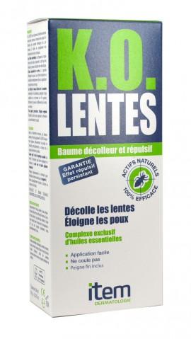Inpa, Item K.O Lentes Repulsif Baume Decolleure, 100 ml