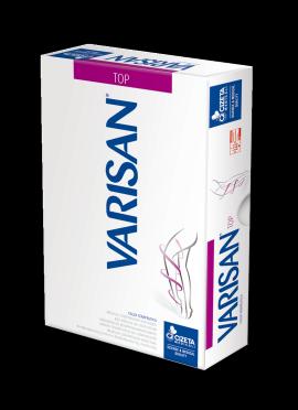 Varisan Top Θεραπευτικές Κάλτσες Ριζομηρίου Ccl 1 Ανοικτά Δάκτυλα Normal Μπεζ Ζεύγος No3