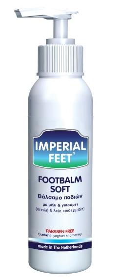 Imperial Feet Foot Balm Soft Βάλσαμο Ποδιών Με Μέλι & Γιαούρτι 150ml