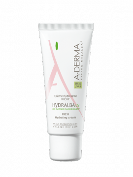 ADERMA HYDRALBA UV CREME RICHE SPF 20 40ML