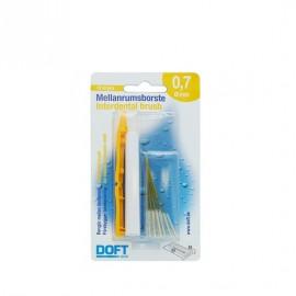 Doft Interdental Brush Μεσοδόντια Βουρτσάκια 0,7mm 12τμχ
