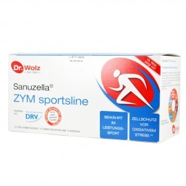 POWER  HEALTH Dr. Wolz SANUZELLA ΖΥΜ SPORTSLINE 14X20ML 14CAP